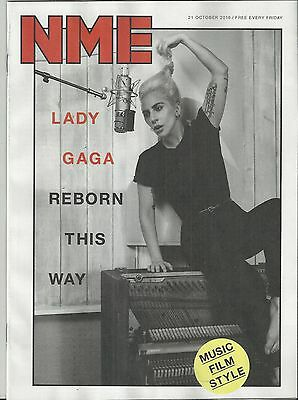 NME - 21 October 2016 -  LADY GAGA Cover & Interview /Korn/Swet shop boys