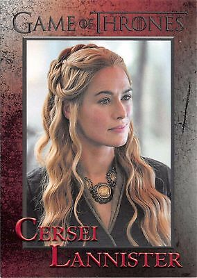 CERSEI LANNISTER (Lena Headey) / Game of Thrones Season 5 (2016) Base Card #46