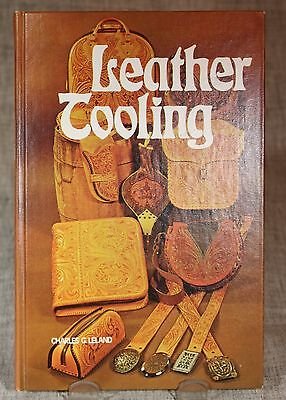 Leather Tooling by Charles G. Leland and Santa De Haven (1975, Hardcover)