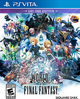 World of Final Fantasy (Day One Edition) PS Vita Game (English) BRAND NEW SEALED