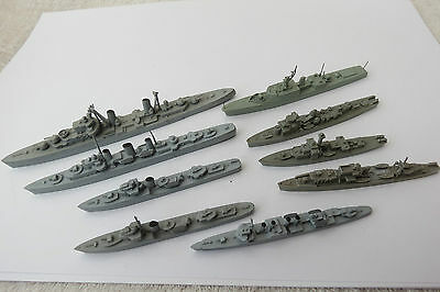 Collection Of Vintage Plastic And Wood Wiking? Ships