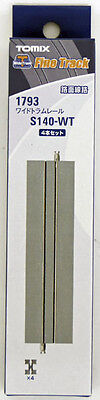 Tomix 1793 Wide Tram 140mm Straight Track S140-WT (4 Pieces) (N scale)