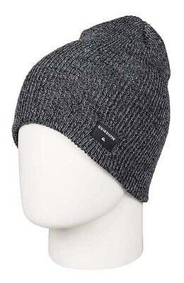Quiksilver Cushy Slouch One Size Charcoal Heather Gorros