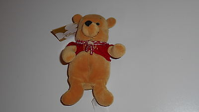 """Disney Winnie the Pooh CAMPING SOFT TOY Brand new with tag 8"""""""