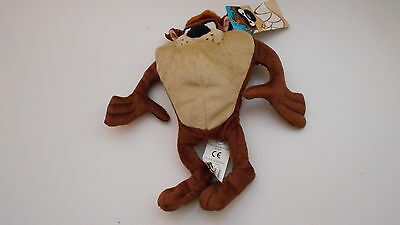 """Warner Bros Brothers Looney Tunes Tasmanian Devil TAZ Soft toy by Boots 9""""/22cm"""