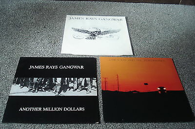 "James Rays Gangwar 3 x 12""s Mexico Sundown Another Million Rev Rev EX to VG+."