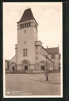 formidable CPA Luxembourg, L´Eglise Sacre-Coeur