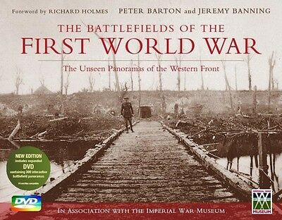The Battlefields of the First World War (Book & DVD) (Hardcover),. 9781472111920