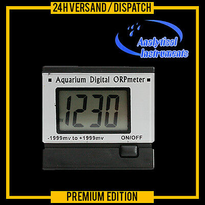 Redox Messgerät Meter Aquarium Teich Pool Chlor Orp Dauermessung  Re2