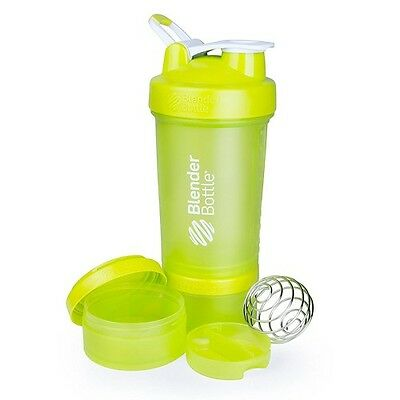 Blender Bottle Pro Stak 450ml Mit 2 Fächer und Mix-Ball + BONUS