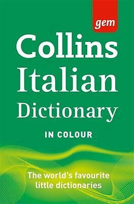 Collins Gem Italian Dictionary 9th Edition - Paperback - NEW - Book