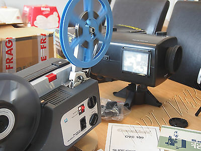 Camlink & Sankyo cine Film Projector Telecine Video Transfer Dual 8, 8MM 0031