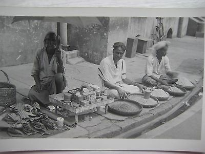MALAYSIA...RP POSTCARD...STREET SELLERS...1930`s...