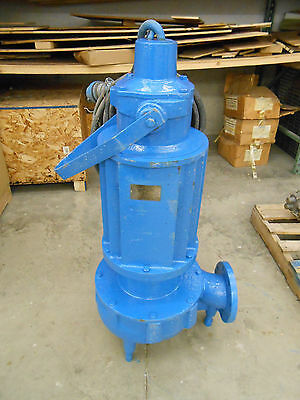 "Goulds Pump 4Ns12M5Gc Commercial 4"" Submersible Sewage Pump"