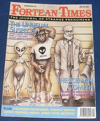 Fortean Times Ft83 October/november 1995 - The Unusual Suspects