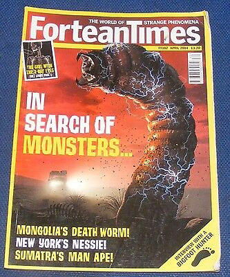 Fortean Times Ft182 April 2004 - In Search Of Monsters
