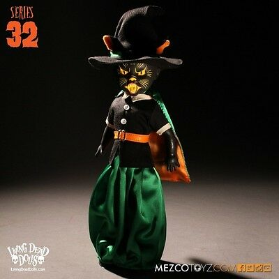 Black Cat Witch (Living Dead Dolls) Series 32  Brand New