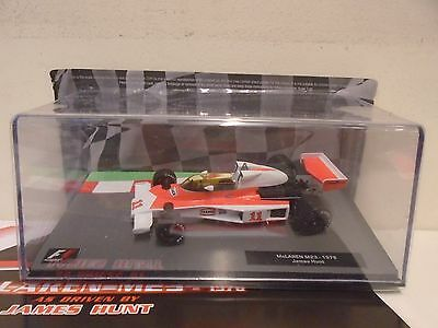 ixo / altaya - McLAREN M23 - 1976 - james hunt - 1/43 SCALE - F1 COLLECTION