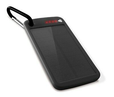 Ksix Solar Power 4000 Mah One Size Black Batterie e caricabatterie