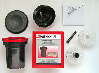 "Paterson ""universal"" Film Developing Tank (With 2 Reels)  ""new Stock"""