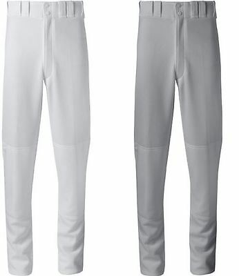 Mizuno Adult Premier Pro Baseball Pants WHITE and GRAY - ALL Adult Sizes 350386