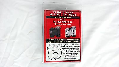 NOS AMANET Plug-n-Play Wiring Harness For Stebel Nautilus Compact Air Horn