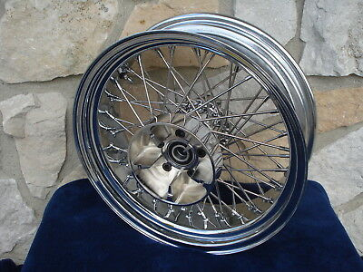 """16X5.5"""" 60 Spoke Abs Rear Wheel Harley Road King Touring Electra Glide 2009-Up"""