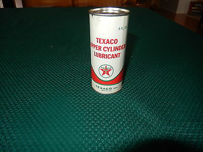 Texaco Nos 1960's Lubricant Can Unopened Nice