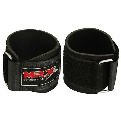 Weight Lifting Wrist Support Wraps Bandage Gym Training Wrap Crossfit Straps BLK