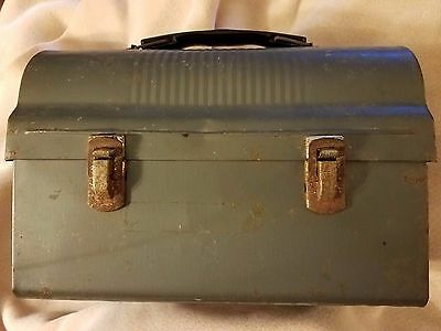 Vintage metal lunch box pail