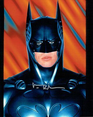 Val Kilmer Hand Signed Autographed 8x10 Photo Batman Silver Ink W/ COA