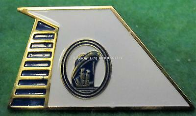 HOLLAND AMERICA LINES BLUE MARINER SOCIETY PENNANT LARGE Lapel Pin Mint