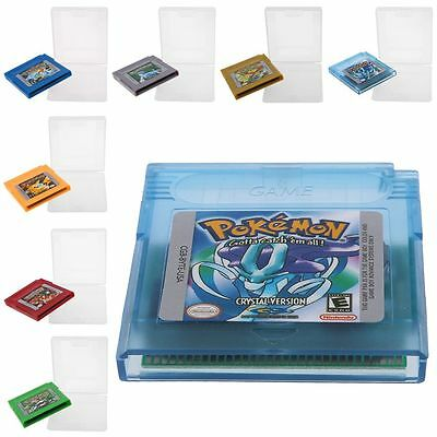 Pokemon Game Card Gameboy Color for GBC Game Console