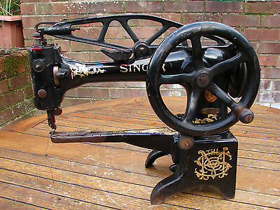 Antique Singer 29K Leather Patcher Walking Foot Bootmaker Cobbler Sewing Machine