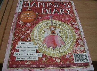 Daphne's Diary magazine #8 2016 Interior Vintage Recipes Garden DIY + Xmas tags