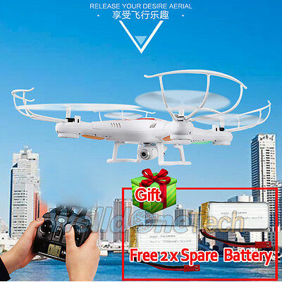 X5C-1 2.4G 4CH RC Explorers Quadcopter 6 Axis Heli Drone with HD Camera+Battery