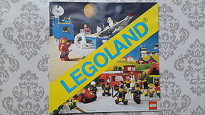 Lego - Town, City, Classic Space, Castle Leaflet Showing Sets of the Time - 1981