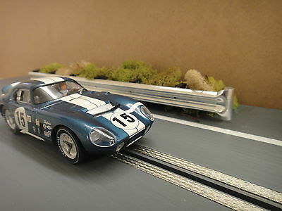1/32 Scale Aluminum Armco Guardrail System,Slot Car Track Scenery,Diorama,Nice