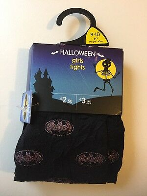 Girls.tights.Black/Pink. Batman .9-10 Years.Halloween. Xmas.party.Celebrate.New