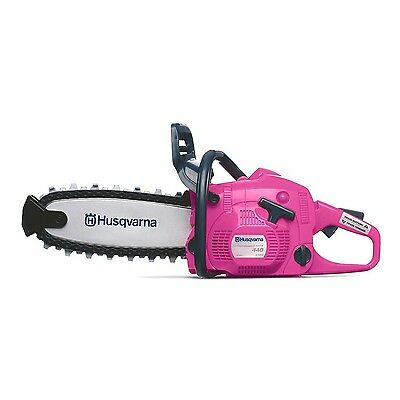 Husqvarna 440 Toy Kids Battery Operated Pink Rotating Chainsaw (Limited Edition)