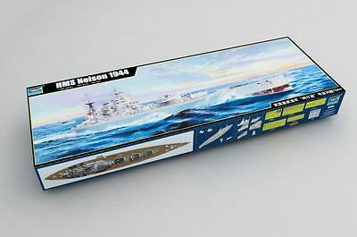 Trumpeter Model Kit - 1944 HMS Nelson Ship - 1:200 Scale - 03708 - New