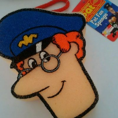 Postman Pat Bath / Shower Sponge On Rope  New
