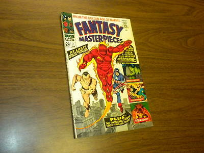 FANTASY MASTERPIECES #7 Marvel Comics 1967 Timely Captain America Torch Subby