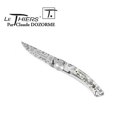 Pocket Knife Le Thiers By Claude Dozorme - Hipster Luck Symbols