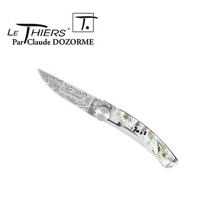 Pocket Knife Le Thiers By Claude Dozorme - Hipster Caribbean Dandy