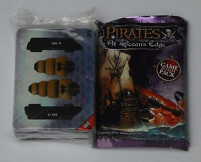 Wizkids Pirates At Ocean's Edge Special Edition Cards + 8 Booster Packs New
