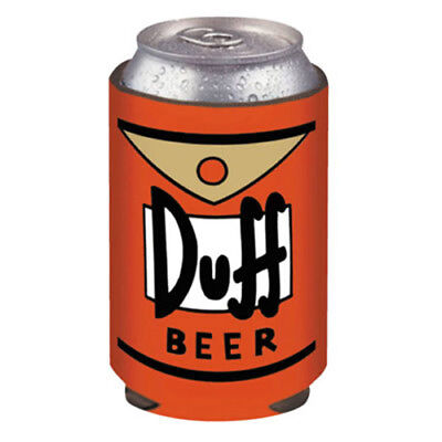 Simpsons Duff Beer Can Cooler