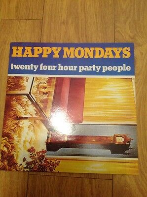 Happy Mondays - 24 Hour Party People Vinyl LP UK 1st Factory