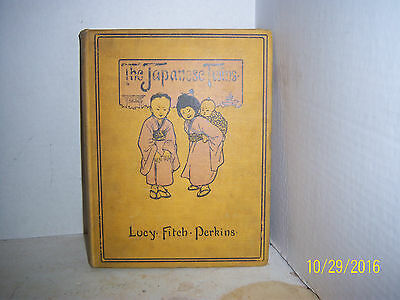 1912 THE Japanese TWINS  LUCY-FITCH-PERKINS HOUGHTON-MIFFLIN