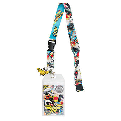 Wonder Woman Lanyard Blue